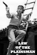 Poster Law of the Plainsman