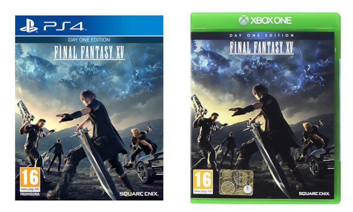 Final Fantasy XV - Day One Edition per PS4 e Xbox One