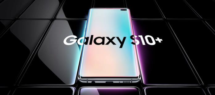 Immagine promozionale del Samsung Galaxy S10 Plus