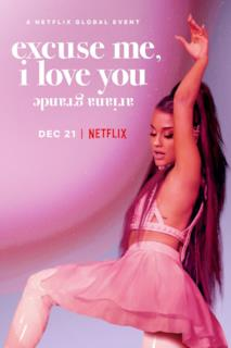 Poster ariana grande: excuse me, i love you
