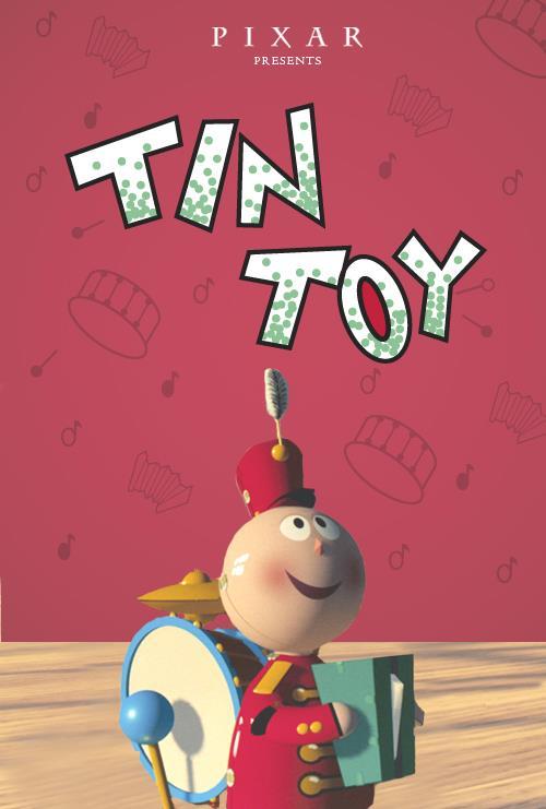 Il poster di Tin Toy