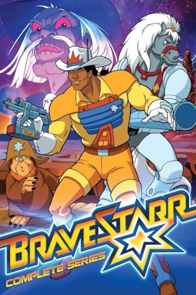 Poster BraveStarr