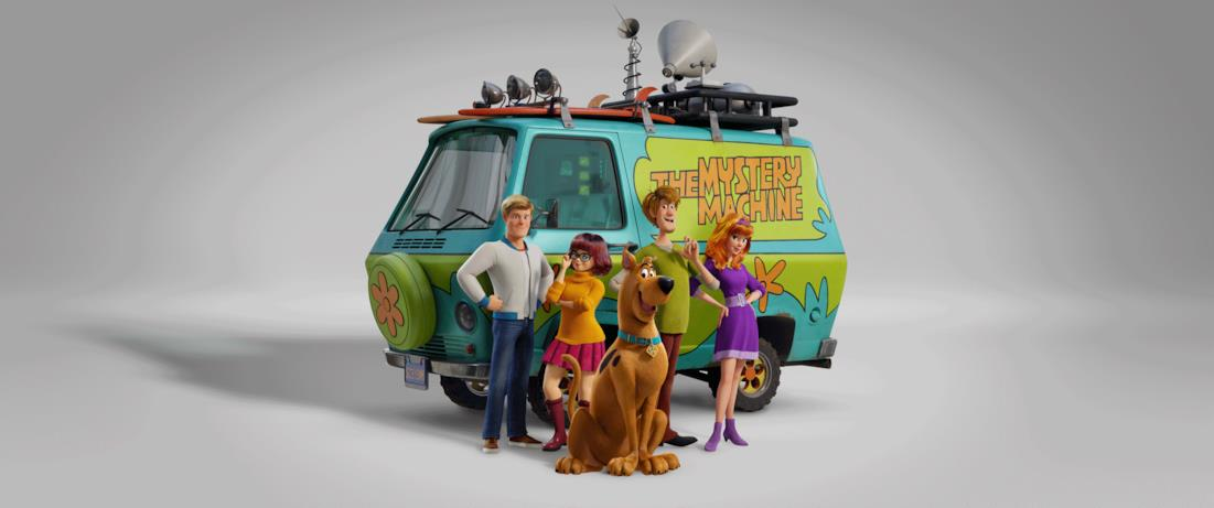 Fred, Daphne, Scooby-Doo, Shaggy e Velma
