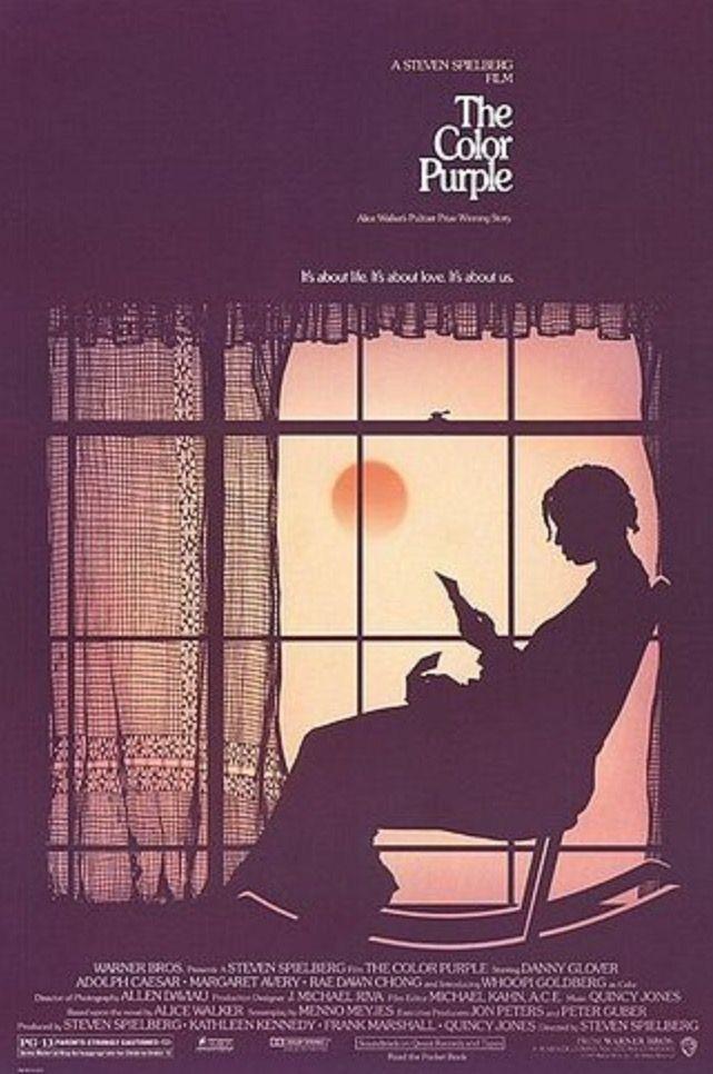 Il poster del film Il colore viola