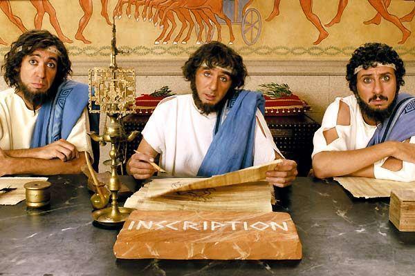 I personaggi di Luca e Paolo in Asterix alle Olimpiadi