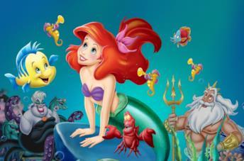 La Ariel di Disney nel classico del 1989