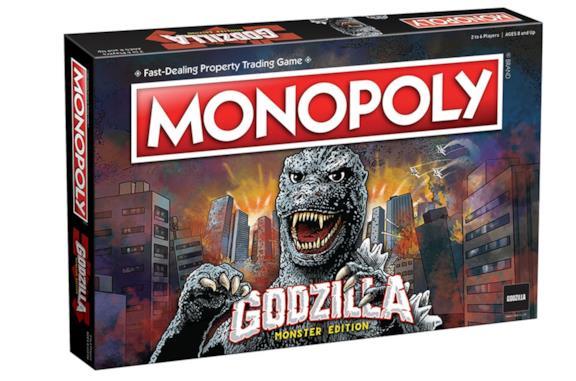 L'edizione del celebre gioco da tavolo dedicata a Godzilla
