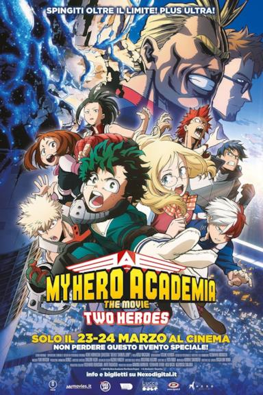 Poster My Hero Academia: The Movie - Two Heroes