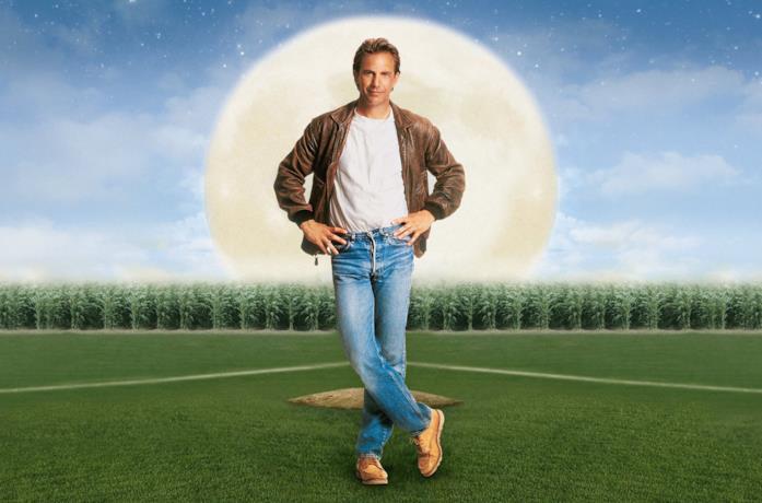 Kevin Costner è Ray Kinsella in L'uomo dei sogni