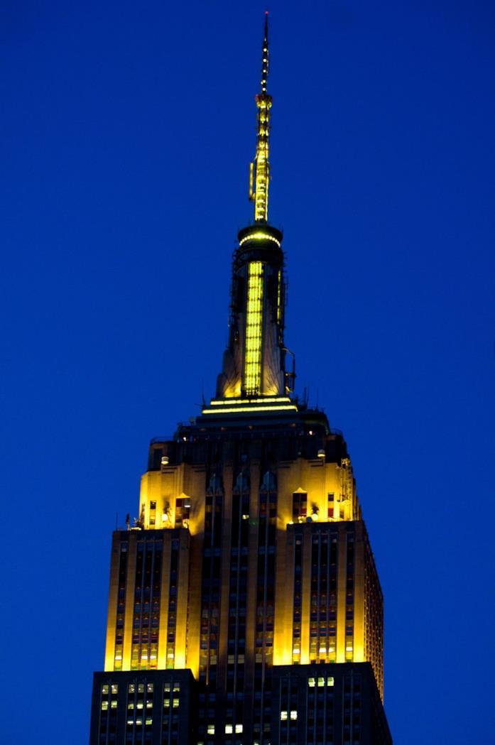 L'Empire State Building di NY per I Simpson