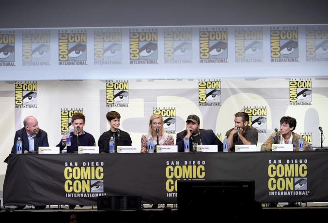 Il cast di Animali Fantastici e Dove Trovarli al Comic-Con di San Diego