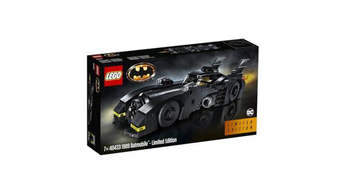 Set LEGO Batmobile (1989) in edizione limitata