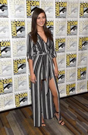Victoria Justice al Comic-Con di San Diego
