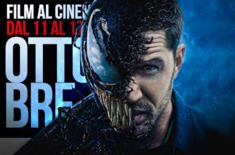 Film al cinema nella settimana dall'11 al 17 ottobre