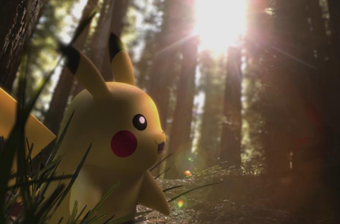Pikachu nel trailer ufficiale di Pokémon GO