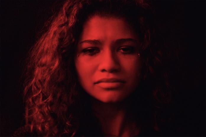 Zendaya in un fotogramma dello show