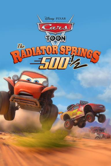 Poster Le 500 miglia e mezzo di Radiator Springs