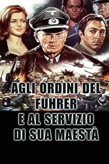 Poster Agli ordini del Fuhrer e al servizio di Sua Maestà