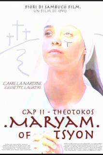 Poster Maryam of Tsyon - Cap II Theotokos