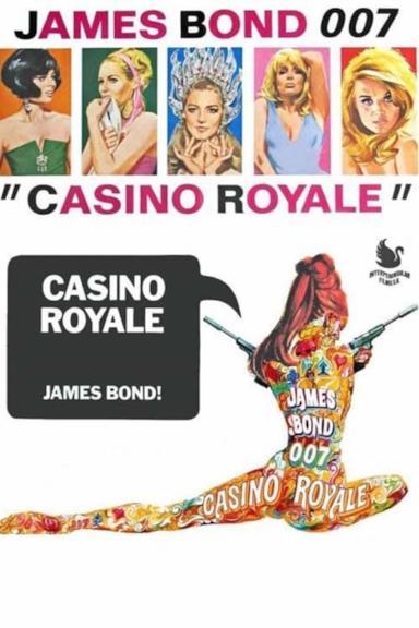 Poster James Bond 007 - Casino Royale