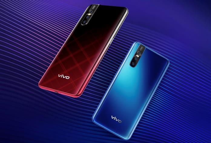 Immagine stampa di Vivo V15 Pro in due colorazioni