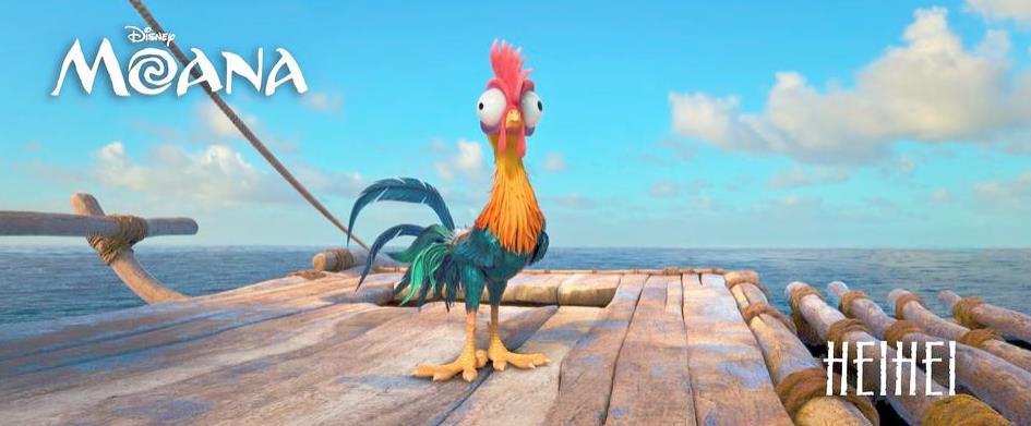 HeiHei è un gallo molto stupido