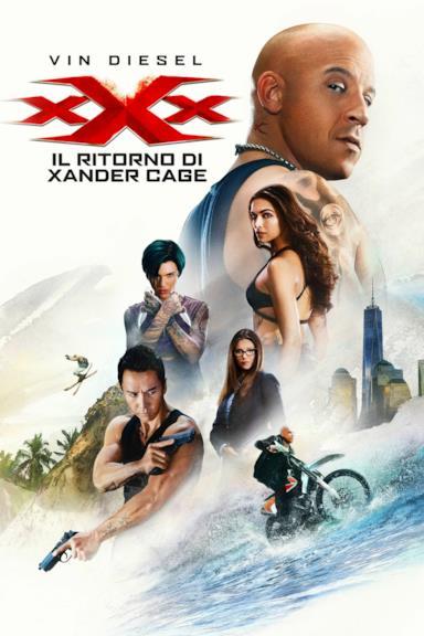 Poster xXx - Il ritorno di Xander Cage