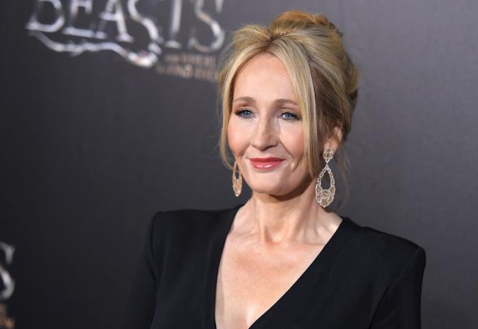 J.K. Rowling ad un evento