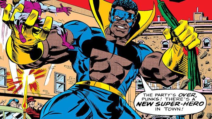Dettaglio della cover di Black Goliath #1