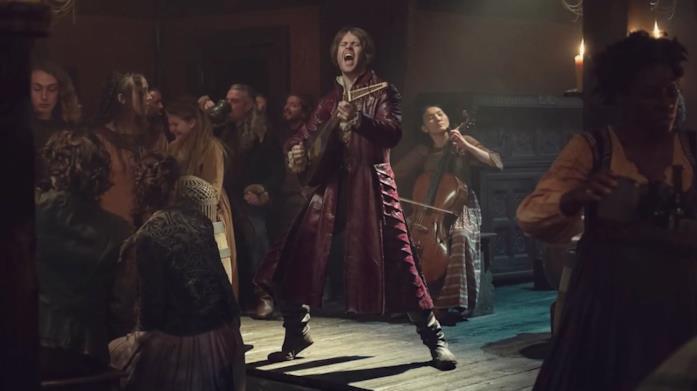 Jaskier nella prima immagine della stagione 2 di The Witcher