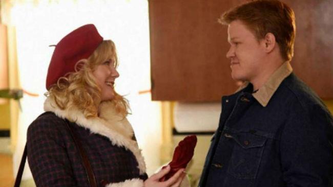 Kirsten Dunst e Jesse Plemons in Fargo