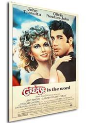 Instabuy Poster Grease - Brillantina Vintage Locandina - Formato (42x30 cm)