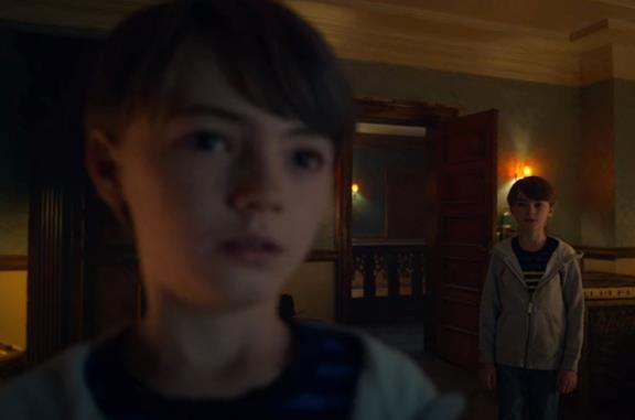 La locandina promozionale di Locke & Key su Netflix
