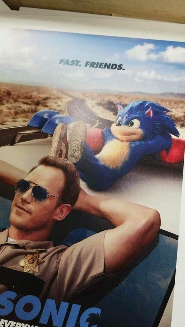 Il nuovo poster di Sonic the Hedgehog