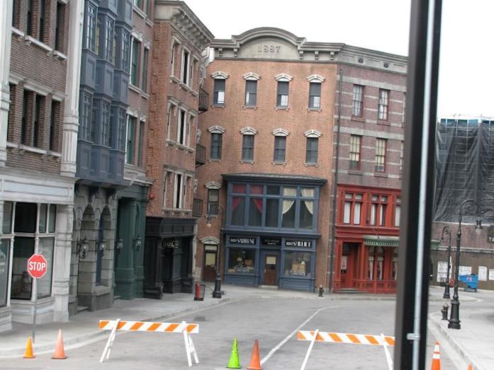 New York Street, negli Universal Studios di Hollywood