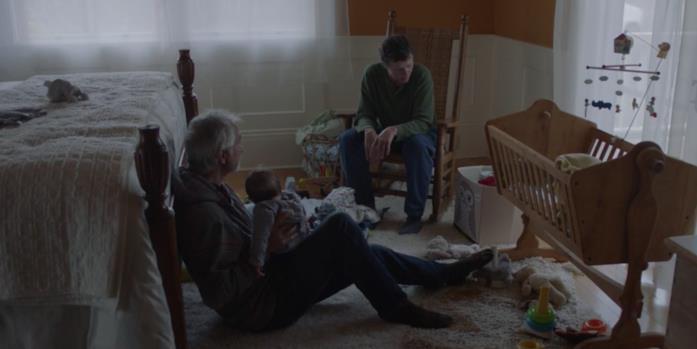 Fern e Dave giocano con il nipotino di lui
