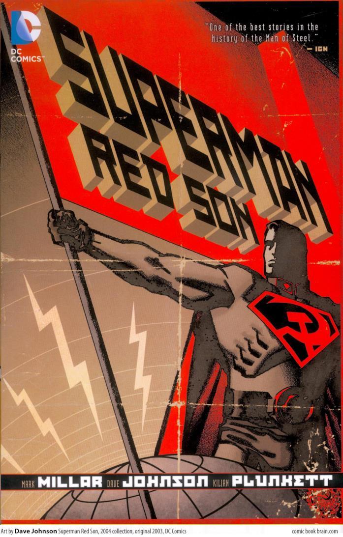 Copertina dell'Elseworld Superman: Red Son