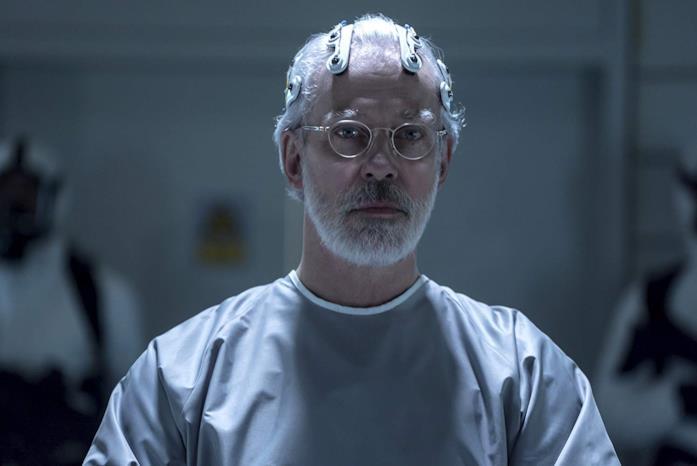 Terrence Mann in una scena della serie TV Sense8