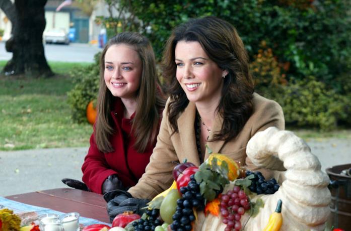 Le protagoniste di Gilmore Girls