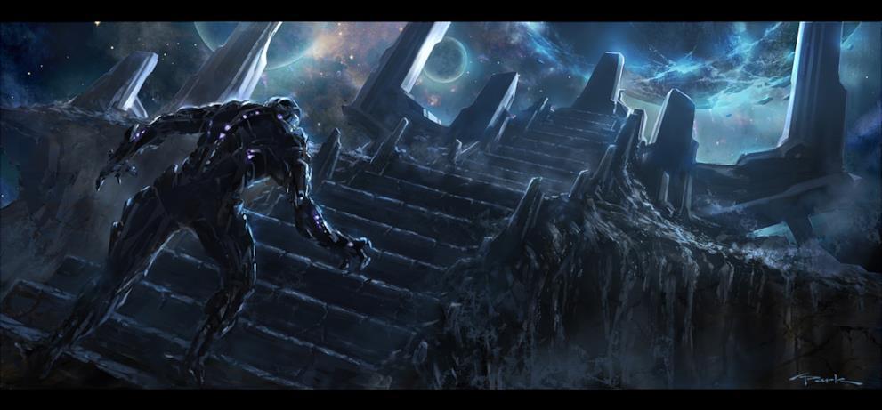 Il servitore di Thanos sta per raggiungere il suo padrone