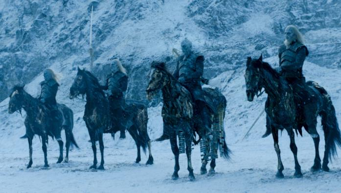 GoT: White Walkers schierati