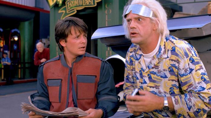 Marty e Doc sono i viaggiatori nel tempo