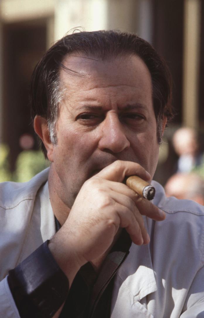 Un giovane Tinto Brass nel 1990