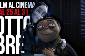 Film al cinema dal 25 al 31 ottobre