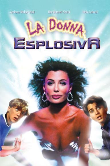 Poster La donna esplosiva