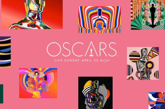 La grafica del poster della 93esima edizione degli Oscar