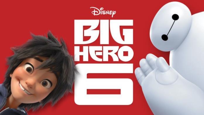 Big Hero 6 tratto dai fumetti Marvel