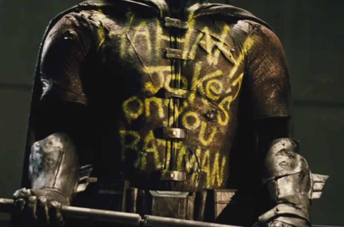 Un'immagine dell'armatura di Robin