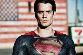 Un'immagine di Henry Cavill come Superman