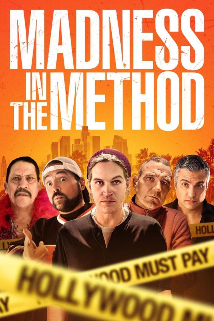 Il poster del film Madness in the Method con i protagonisti del film